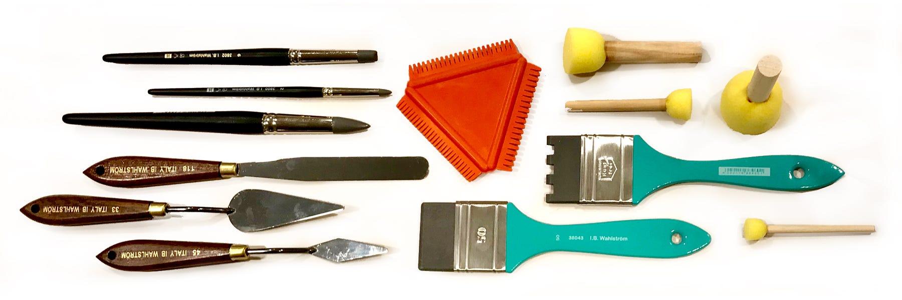 Målarknivar & Verktyg