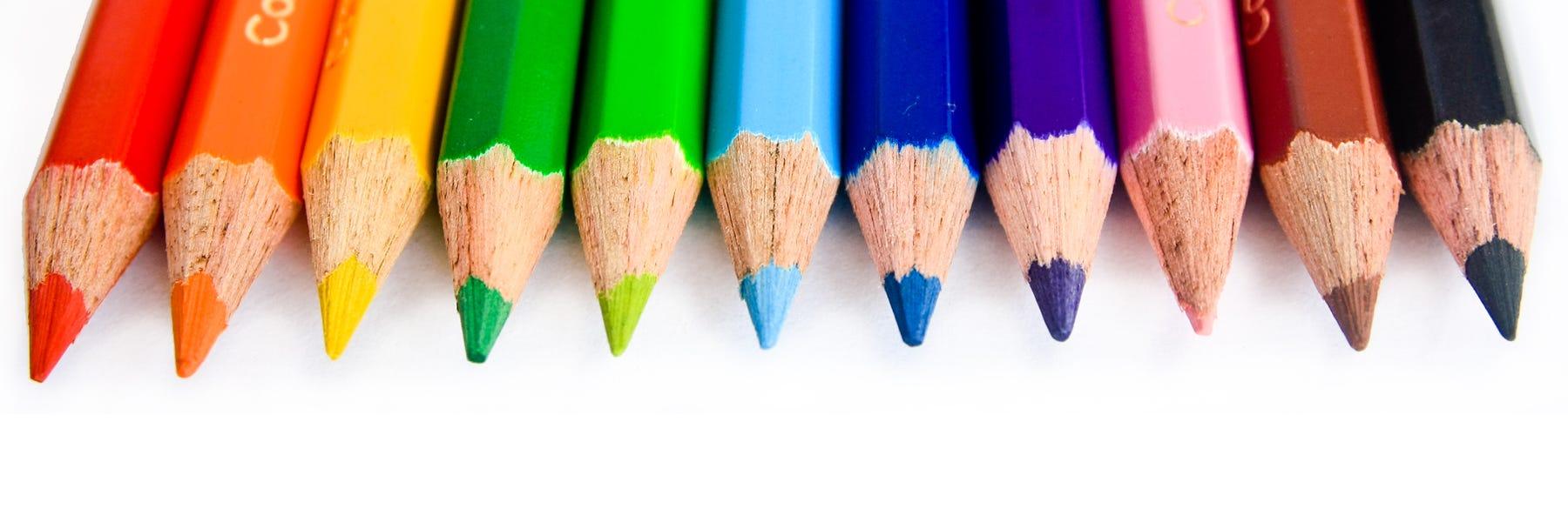 Färgpennor & Pastellpennor