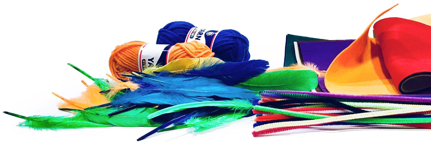 Textil & Fjädrar
