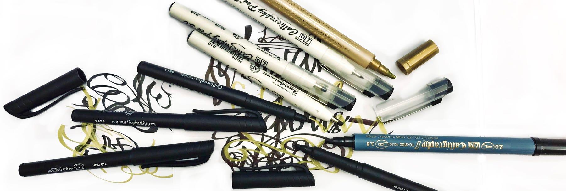 Kalligrafipennor