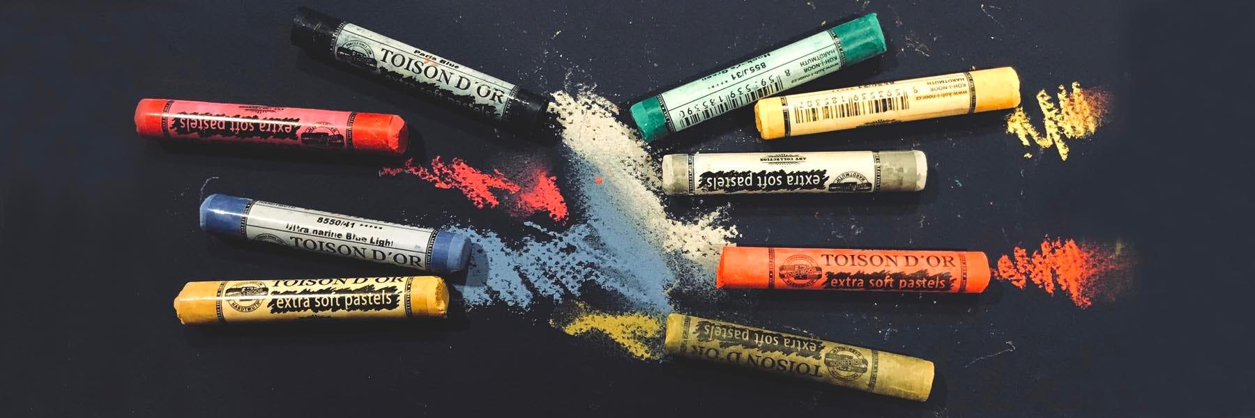 Koh-I-Noor extra soft pastels