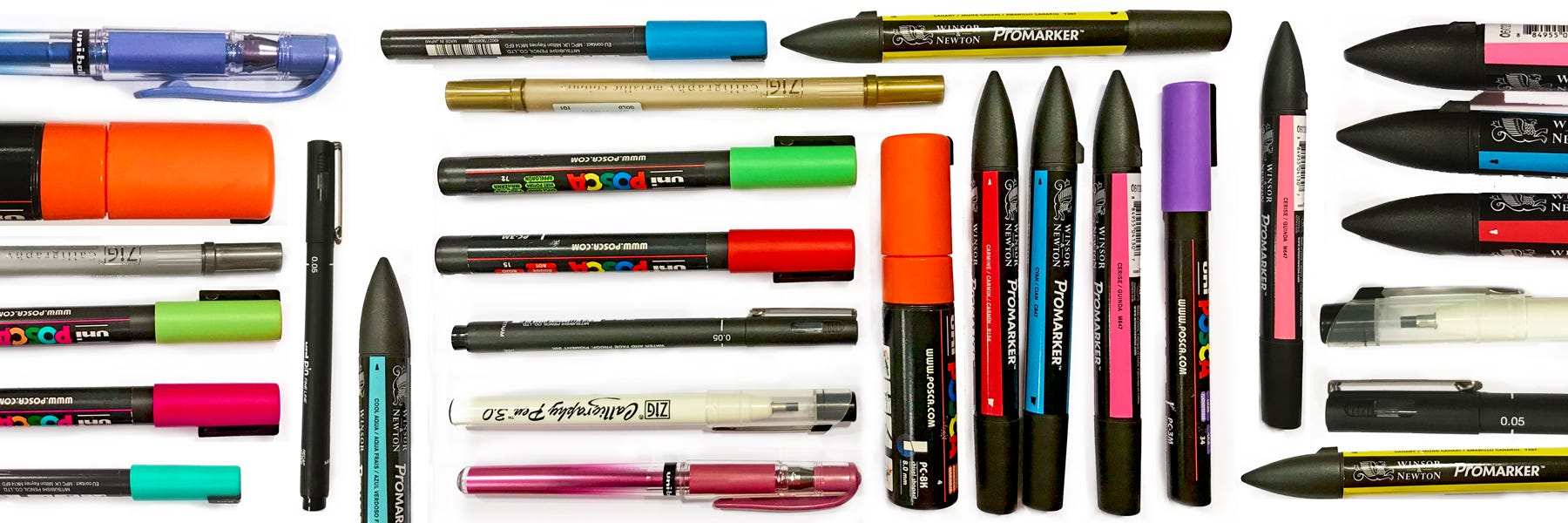 Tuschpennor & Markers
