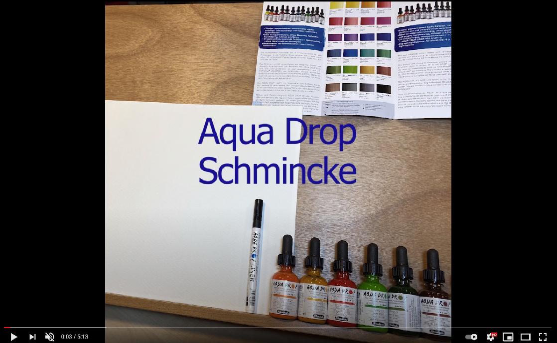 Aqua Drop IB Wahlström Video